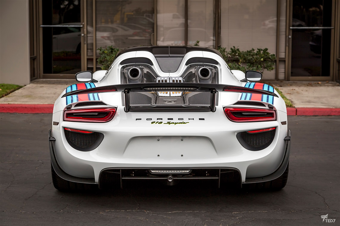 double martini treatment for this porsche 918 spyder rennlist porsche dis. Black Bedroom Furniture Sets. Home Design Ideas