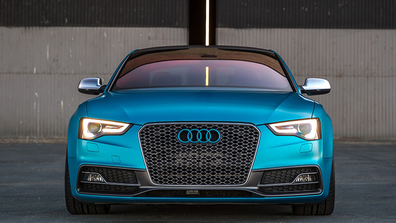 Audi S5 Wrapped - Protective Film Solutions