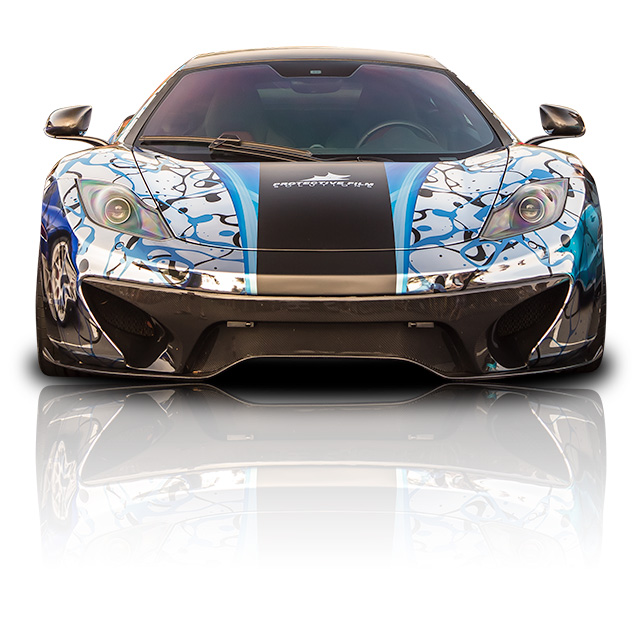 Protective Film Solutions McLaren MP4-12C Intro - Front View