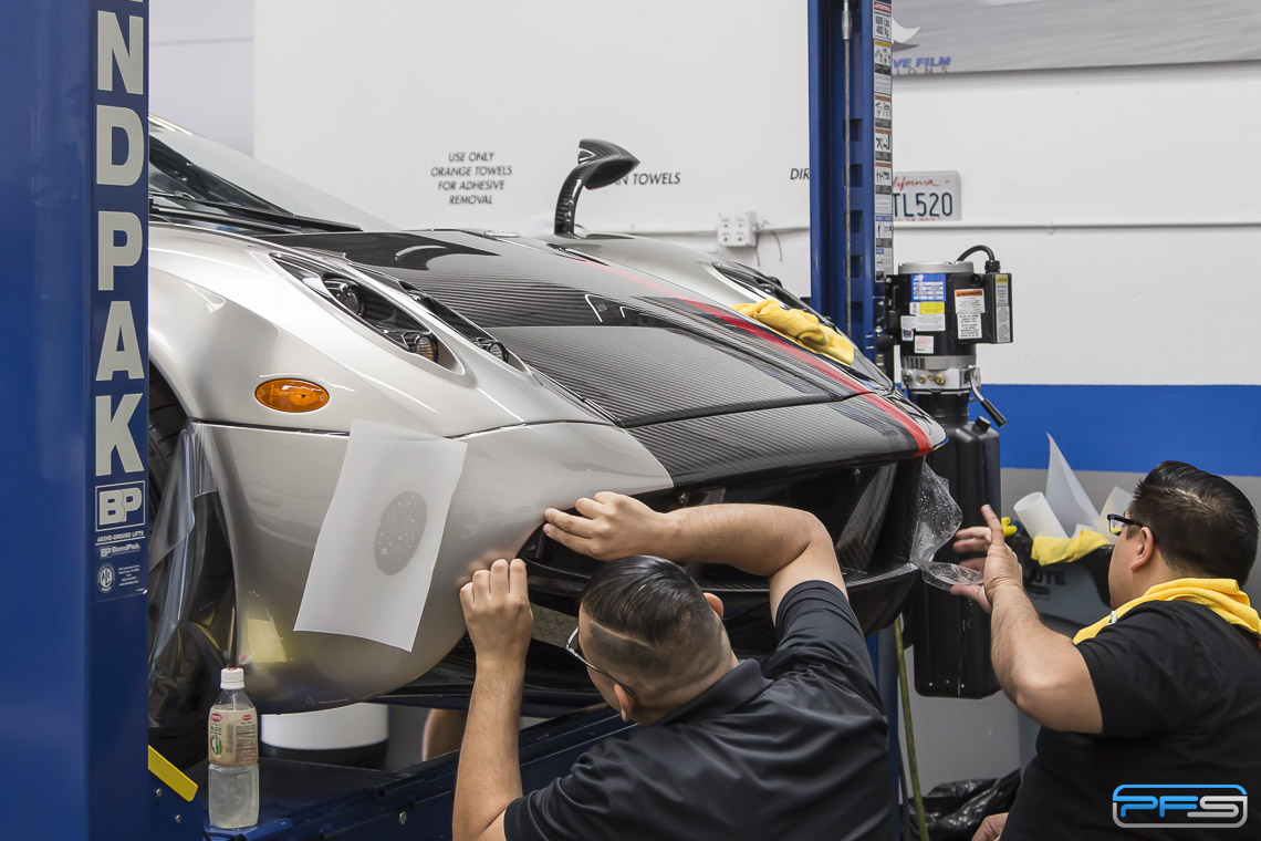 Protective Film Solutions About - Pagani Huayra