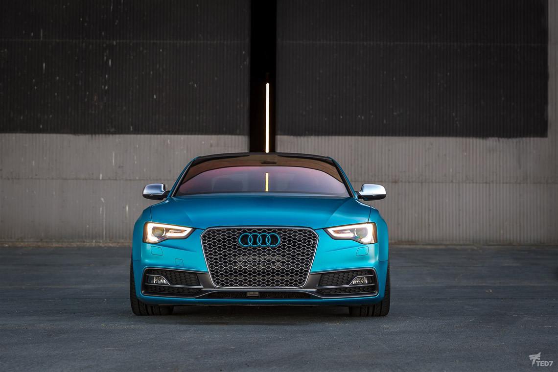 Audi S5 Color Change Wrap - Protective Film Solutions