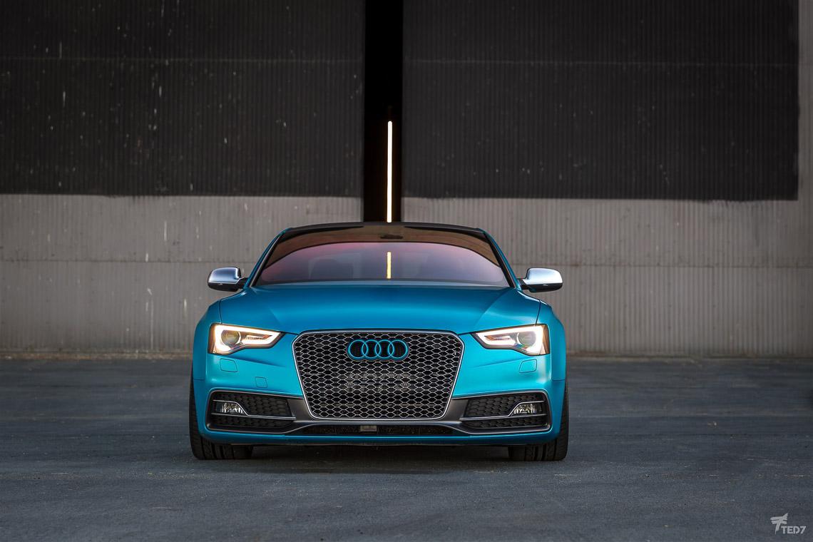 Audi S5 Color Change Wrap - Protective Film Solutions