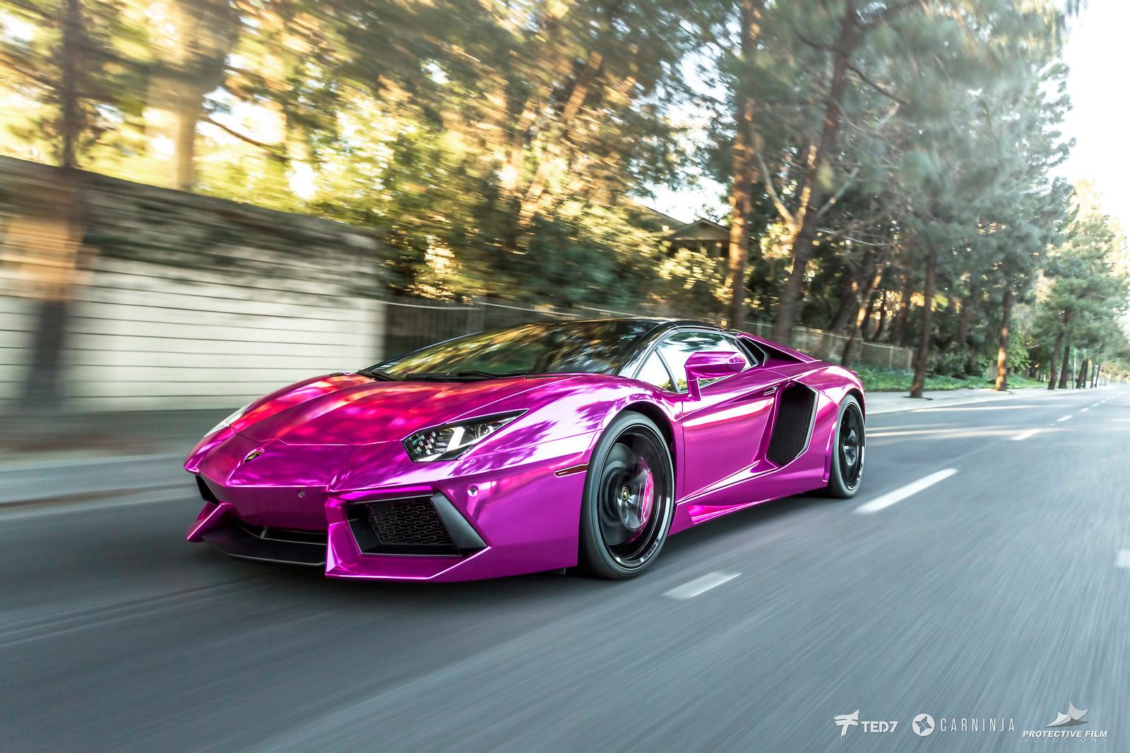 Lamborghini Aventador Rolling - Windshield Protection