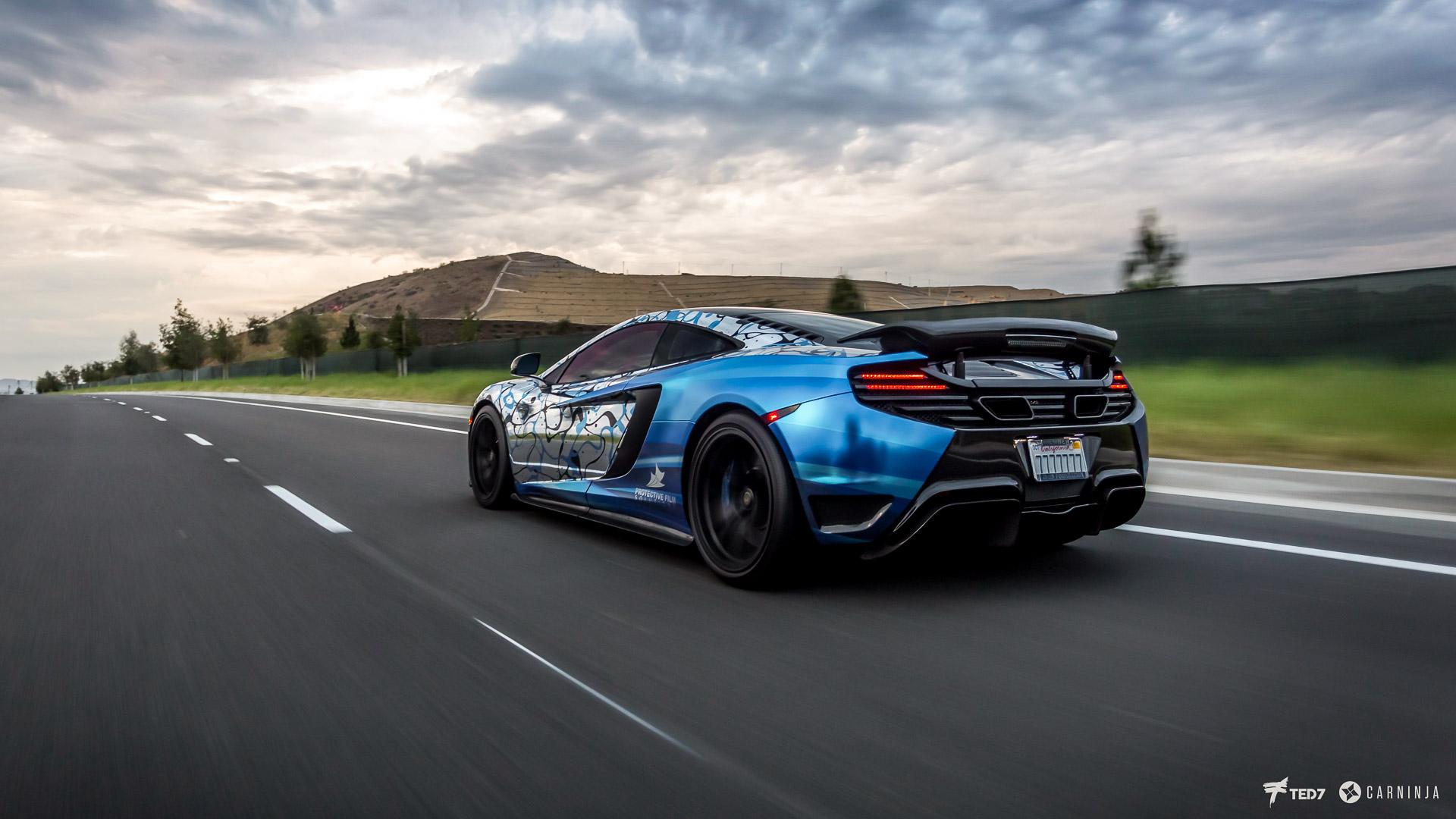 McLaren 12C Rolling Shot - Vehicle Wraps