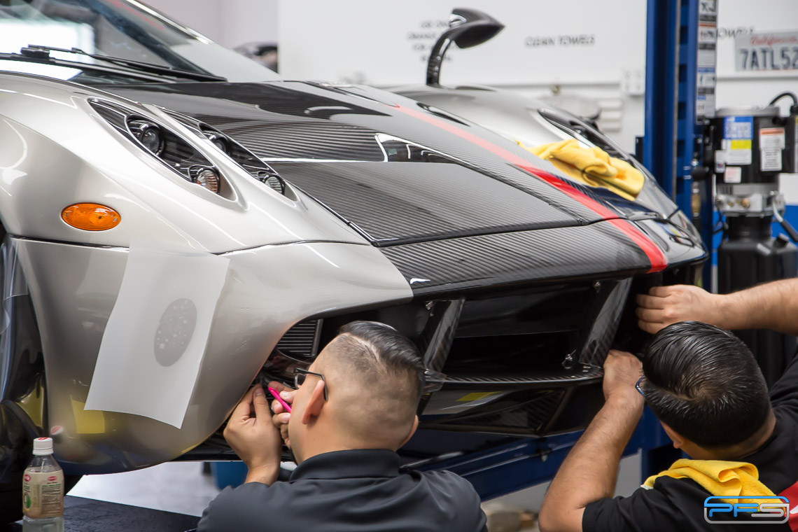 Pagani Huayra Clear Paint Protection - Protective Film Solutions