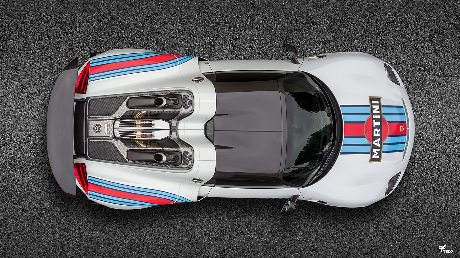 Porsche 918 Spyder Martini - Protective Film Solutions