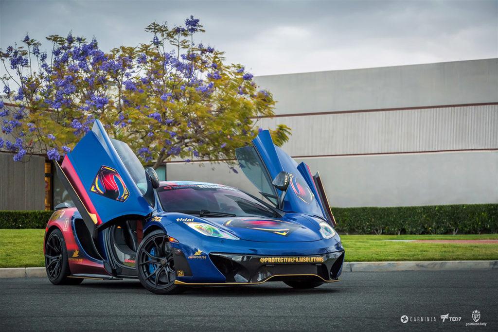 McLaren 12C Superman Wrap - KI Studios / Protective Film Solutions