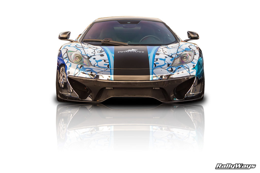 McLaren MP4-12C Aqua Wrap - Protective Film Solutions