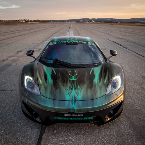 PFS Peacock Green McLaren MP4-12C