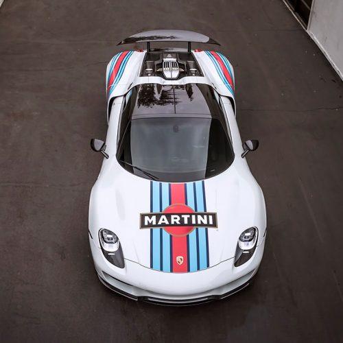 Porsche 918 Spyder Martini Gallery 3
