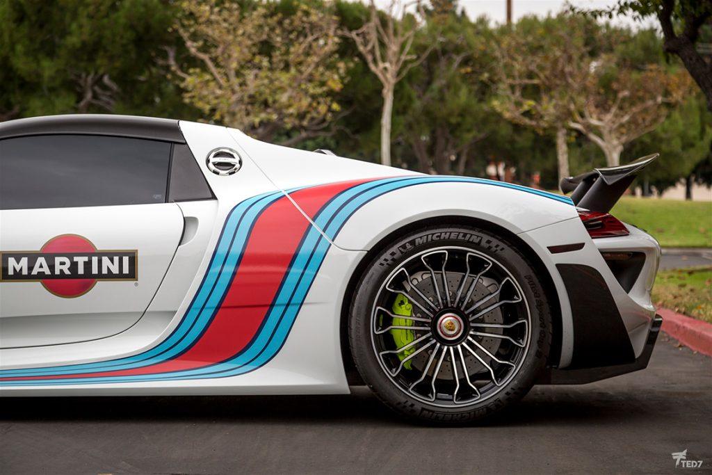 Porsche 918 Spyder Martini Gallery 5
