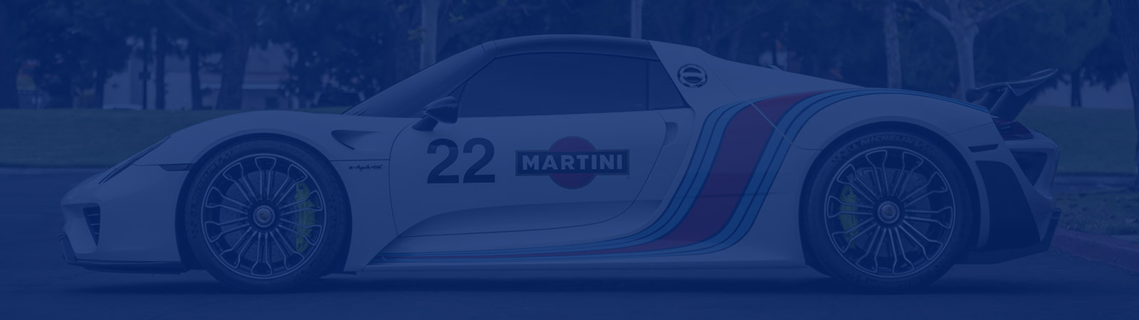 Porsche 918 Spyder Martini Livery – Protection and Graphics