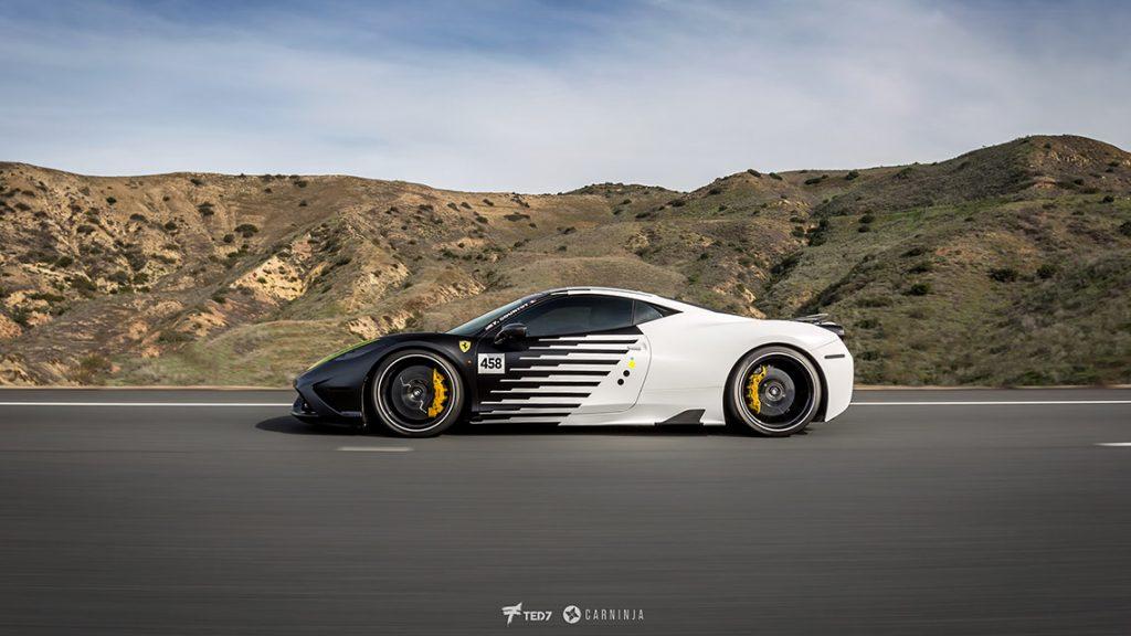 Yin Yang Ferrari 458 Speciale