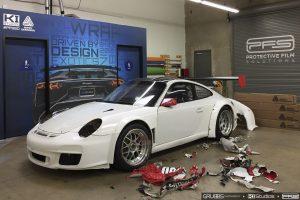 Porsche Wrap Removal