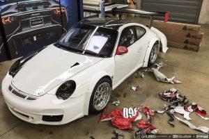 Porsche Wrap Removal 2