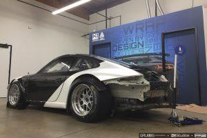 Porsche 911 Race Car Wrap Process