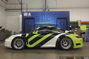 Avery Dennison Porsche Wrap Process