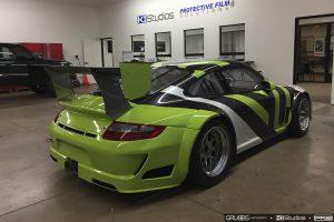 Porsche Race Car Wrap
