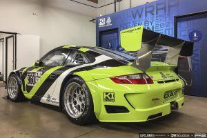 Avery Dennison Graphics Porsche Race Car