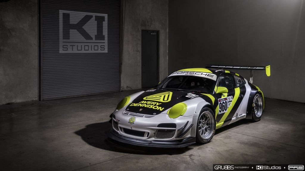 Light Painting Porsche Race Car by Grubbs Photography
