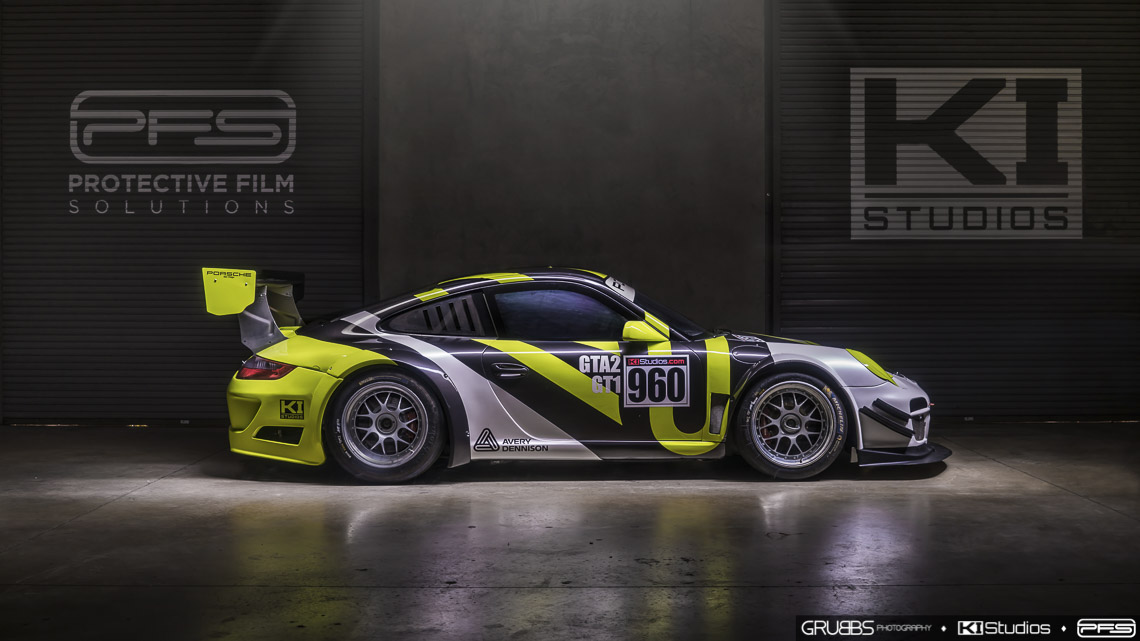 Avery Dennison Porsche Racing Livery Protective Film Solutions