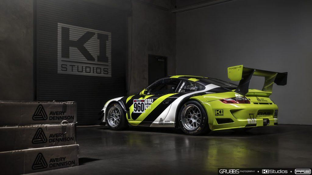 Avery Dennison Porsche at KI Studios