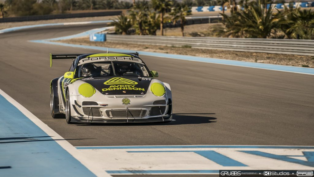 Porsche 911 GT3 Cup at The Thermal Club
