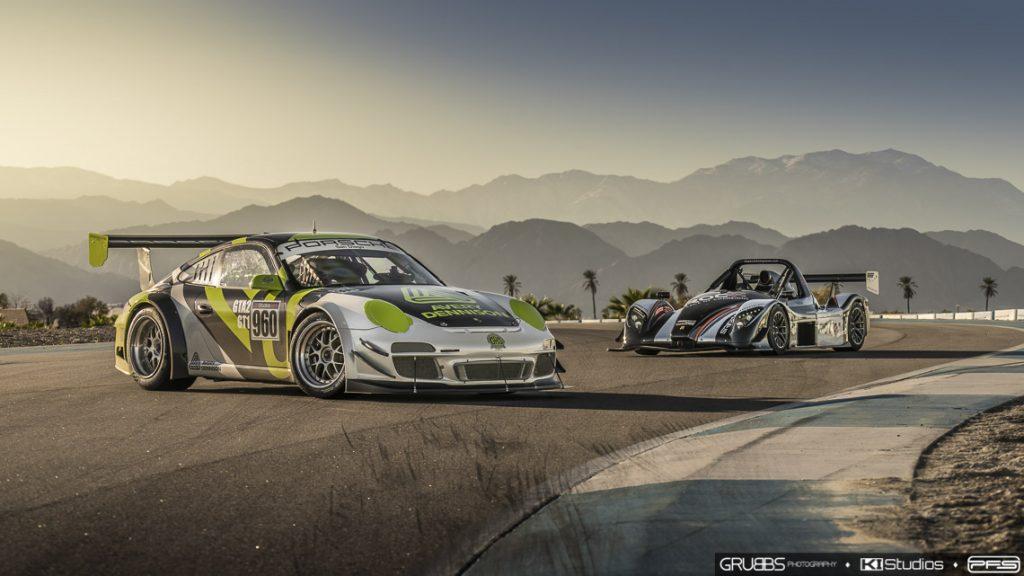Avery Dennison Porsche Race Car