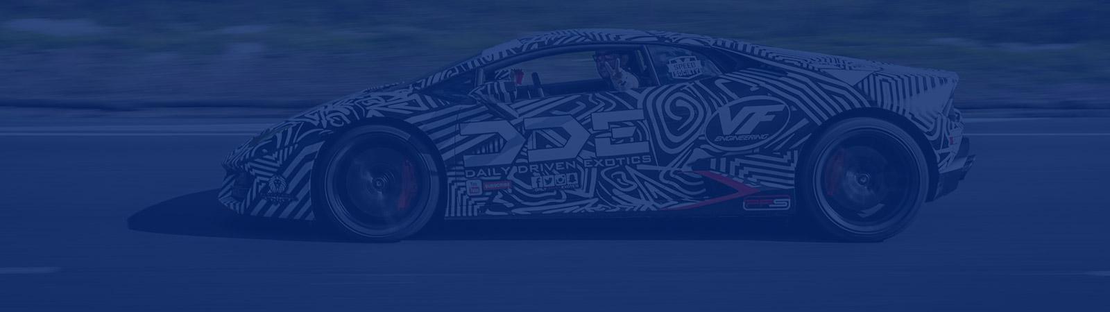 Daily Driven Exotics Lamborghini Huracan Wrap