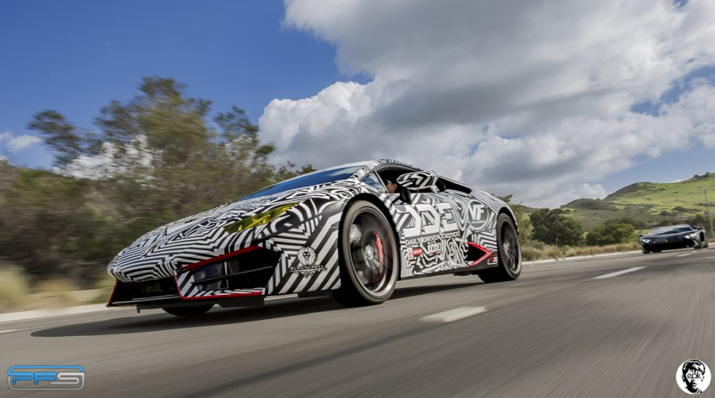 Lamborghini Huracan Wrap Design