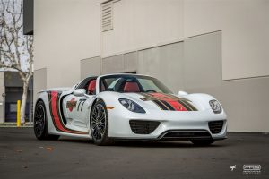 Porsche 918 Spyder Martini Style by PFS