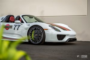 Porsche 918 Spyder Martini Style