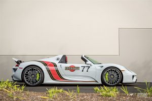 Porsche 918 Spyder by Ted 7 and Protective Film Solutions