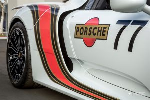 Martini Orange Twist Porsche 918 Spyder by Protective Film Solutions