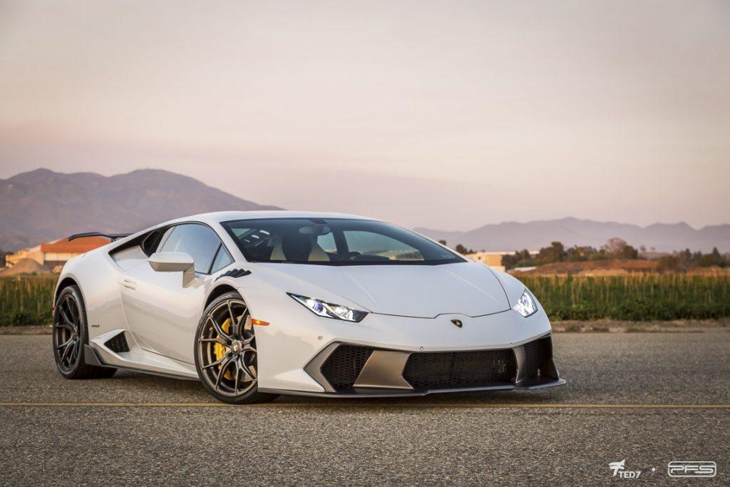 White Vorsteiner Lamborghini Huracan
