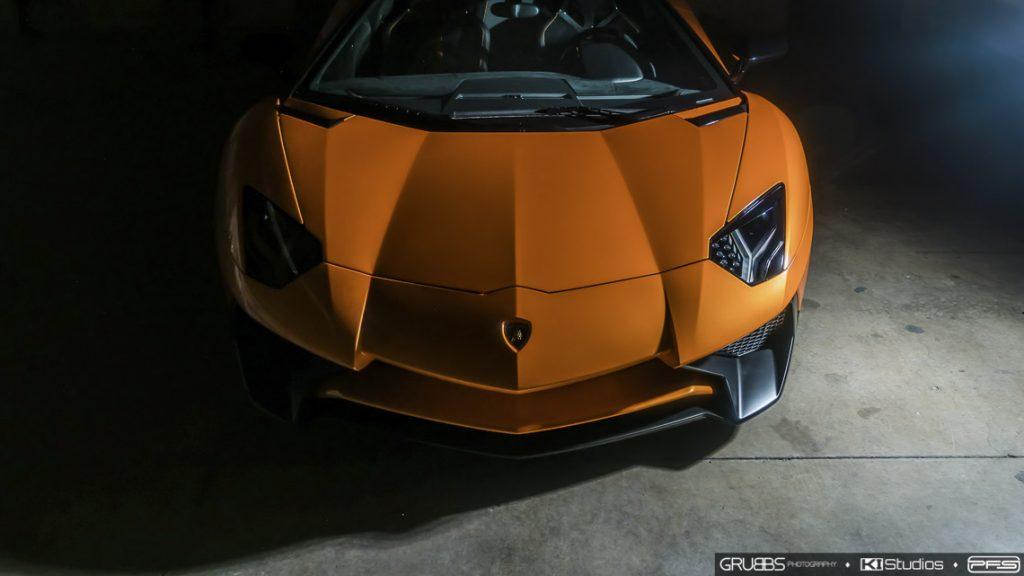 Aventador SV Roadster Nose