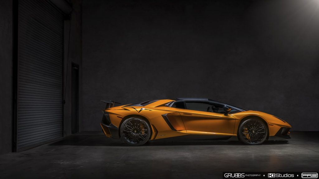 Aventador SV Roadster Side Profile