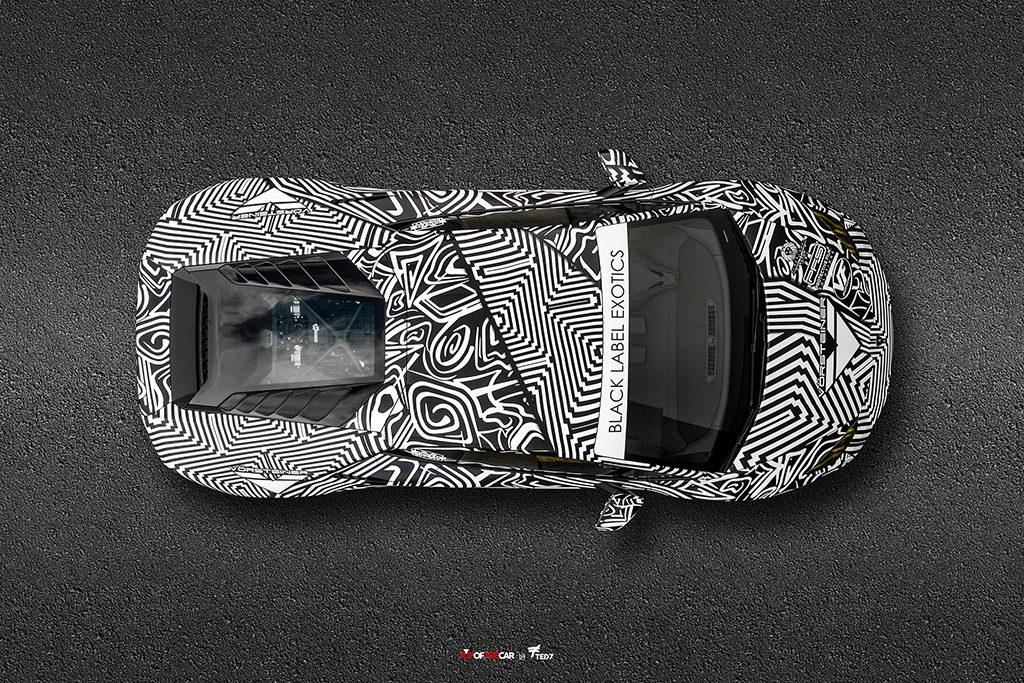DDE Lamborghini Top