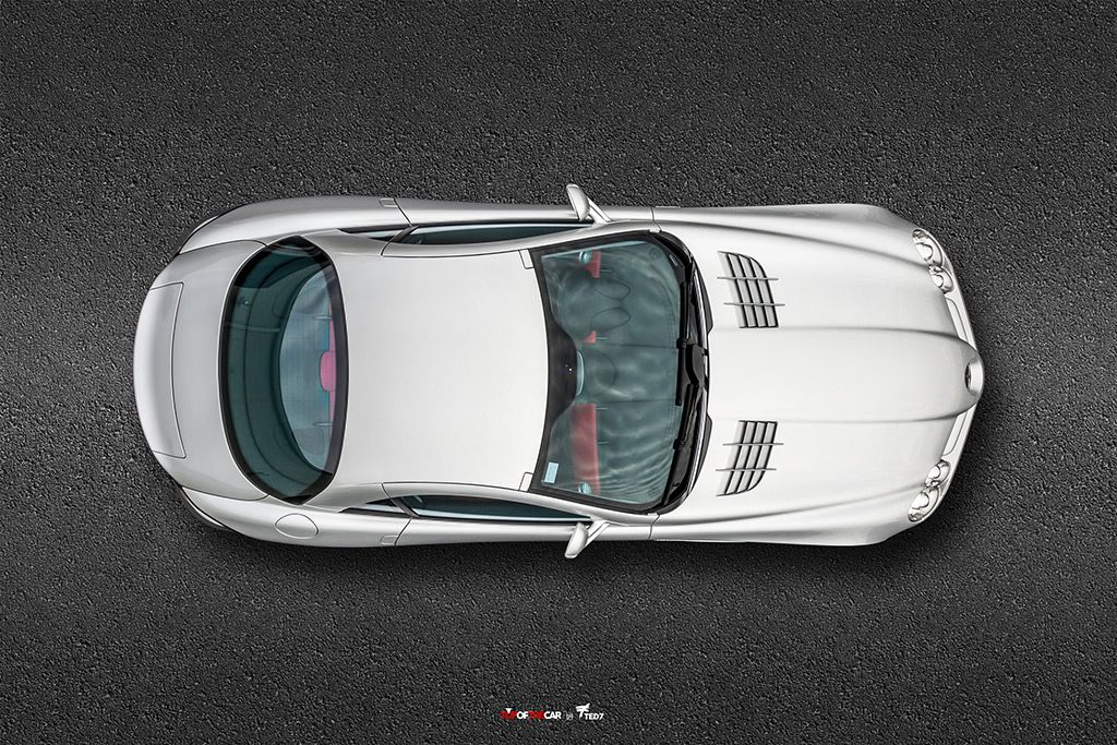 McLaren-Mercedes SLR Top View