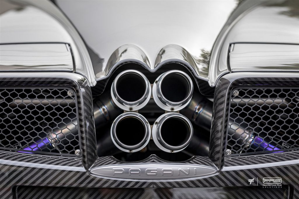 Pagani Huayra Pipes - Protective Film Solutions