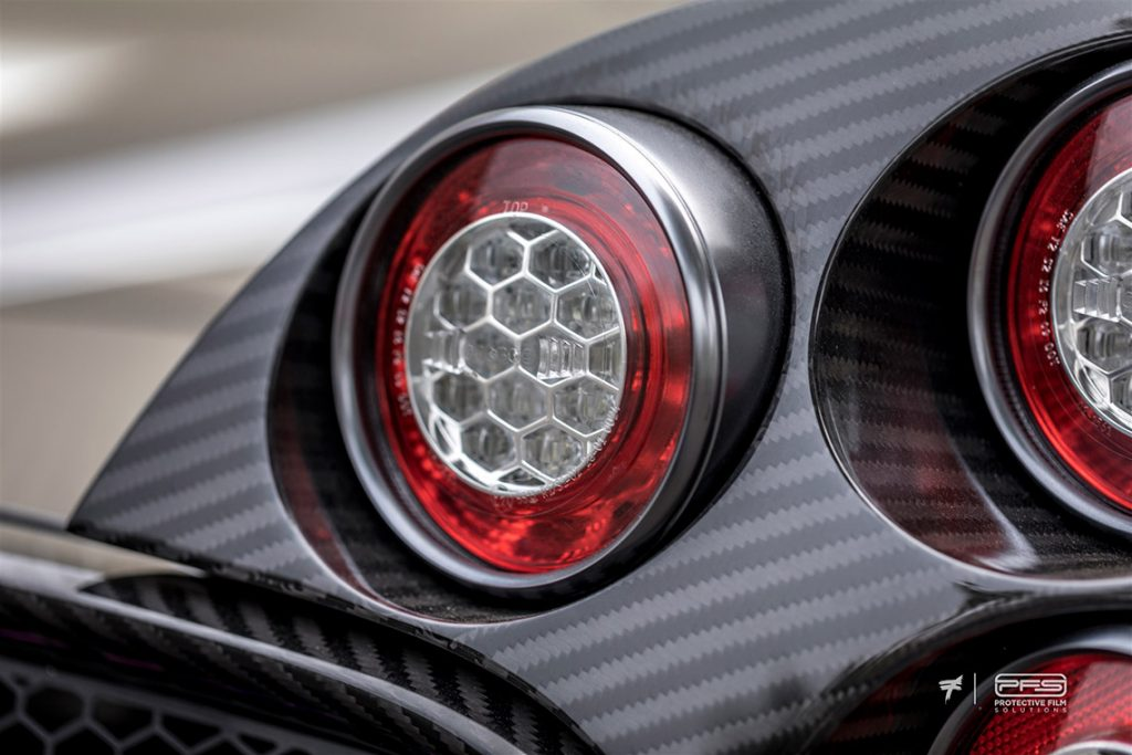 Pagani Huayra Tail Lamps - Protective Film Solutions