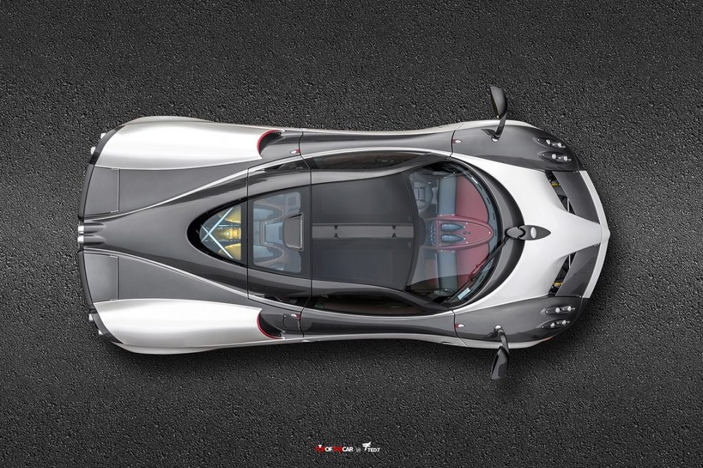 Pagani Huayra Top View - PFS