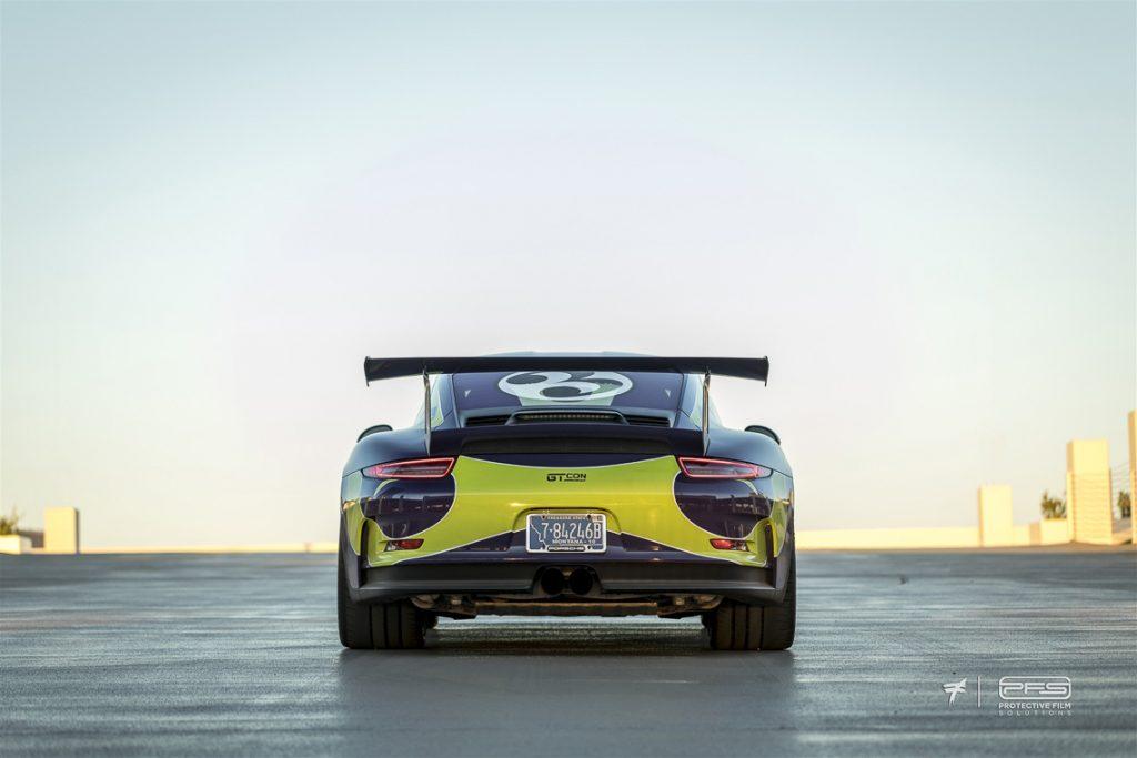 Porsche 991 GT3 RS Rear View
