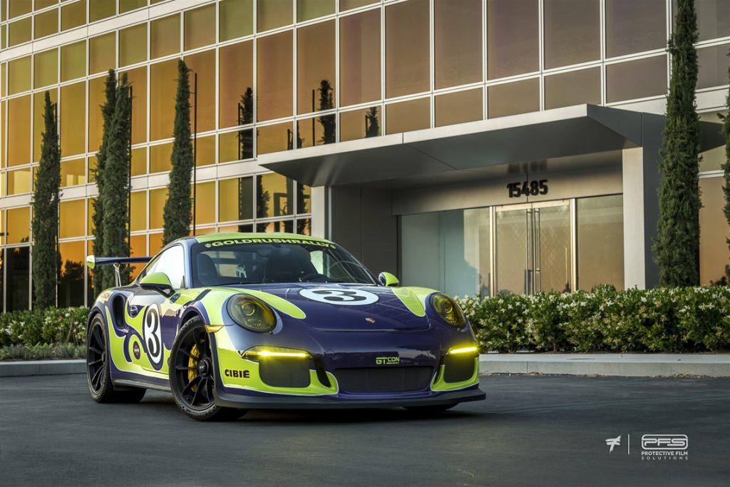 Porsche 991 GT3 RS Ultraviolent
