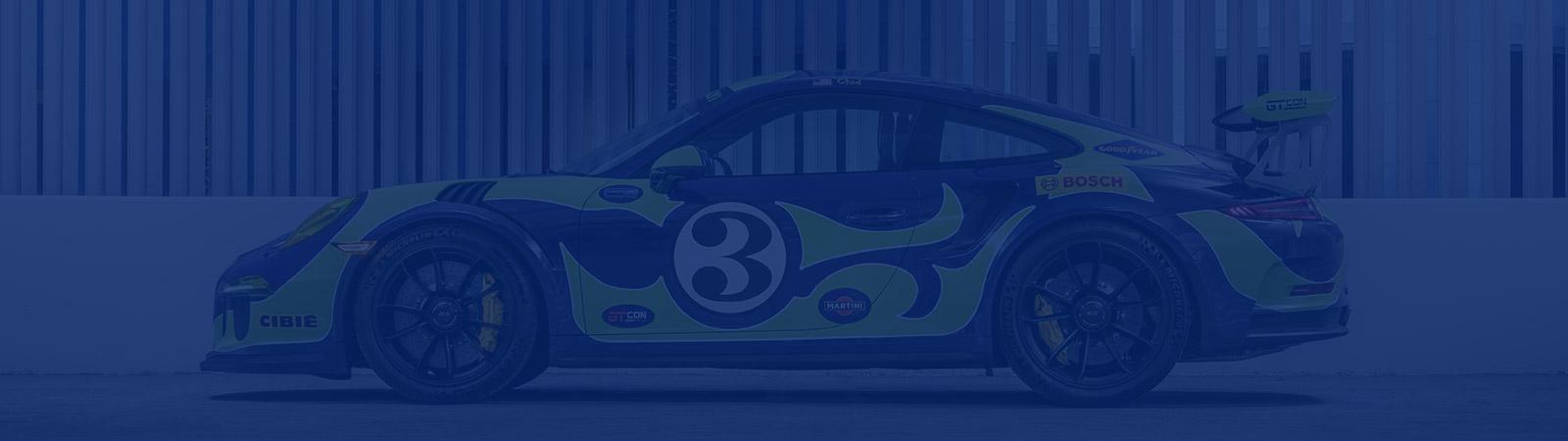 Fabulous Seventies Porsche 991 GT3 RS Wrap