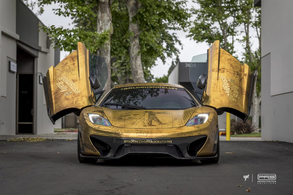 Gold Rush Rally 9 Liveries 5 - DaVinci McLaren