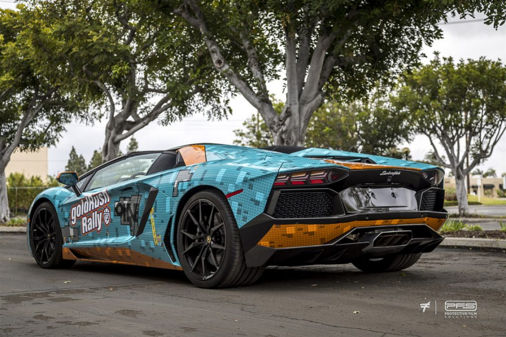Gold Rush Rally 9 Liveries - LeGulf Lamborghini Aventador