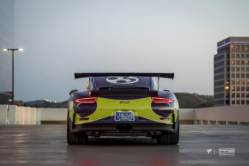 Rear of a Porsche 991 GT3 RS - Ted 7 Photo