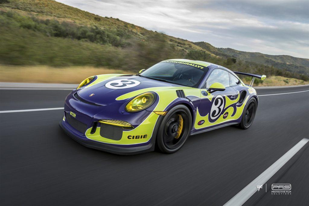 Rolling Shot Porsche 991 GT3 RS - Fab 70s