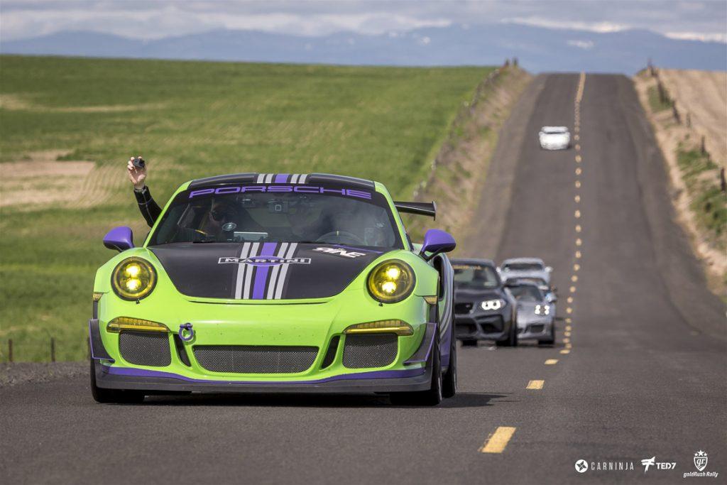 Gold Rush 9 Porsches Rolling